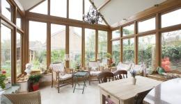 Oak Framed Extension to a Listed Cottage in Everdon 040