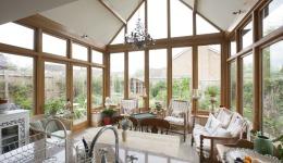 Oak Framed Extension to a Listed Cottage in Everdon 041